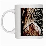 Castle Yard in Winter -AveHurley ArtRevu.com- White Mug