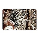 Castle Yard In Winter - Ave Hurley Magnet (Rectangular)