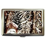 Castle Yard In Winter - Ave Hurley Cigarette Money Case