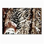Castle Yard In Winter - Ave Hurley Postcard 4 x 6  (Pkg of 10)