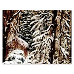 Castle Yard In Winter - Ave Hurley Jigsaw Puzzle (Rectangular)