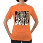 Castle Yard in Winter -AveHurley ArtRevu.com- Women s Dark T-Shirt