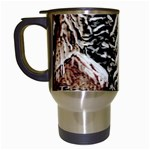 Castle Yard in Winter -AveHurley ArtRevu.com- Travel Mug (White)