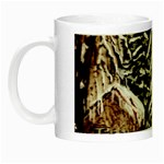 Castle Yard in Winter -AveHurley ArtRevu.com- Night Luminous Mug