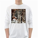Castle Yard in Winter -AveHurley ArtRevu.com- Long Sleeve T-Shirt
