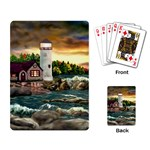 David s Lighthouse -AveHurley ArtRevu.com- Playing Cards Single Design