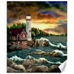 David s Lighthouse -AveHurley ArtRevu.com- Canvas 8  x 10