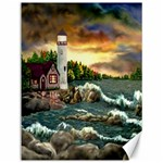 David s Lighthouse ~ Ave Hurley - Canvas 12  x 16