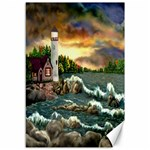 Davids Lighthouse By Ave Hurley   Canvas 12  x 18
