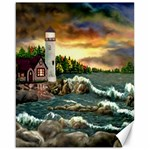 David s Lighthouse ~ Ave Hurley -  Canvas 16  x 20