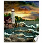 David s Lighthouse ~ Ave Hurley - Canvas 20  x 24