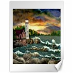 David s Lighthouse ~ Ave Hurley -  Canvas 36  x 48