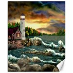 Davids Lighthouse By Ave Hurley   Canvas 11  x 14