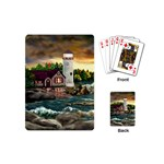 David s Lighthouse -AveHurley ArtRevu.com- Playing Cards (Mini)