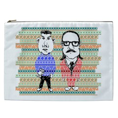 The Cheeky Buddies Cosmetic Bag (xxl) by doodlelabel