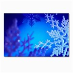 beautiful-snow-flow Postcard 4  x 6