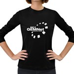 gemnet-logo Women s Long Sleeve Dark T-Shirt