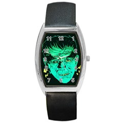 Framk Tonneau Leather Watch by Contest1741083