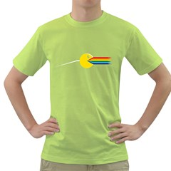 The Pacside Mens  T Shirt (green)