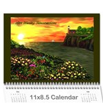 Ave Hurley Illustrations  Wall Calendar 11 x 8.5 (12-Months)