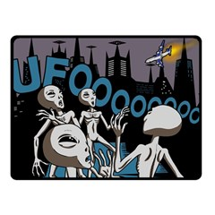 The Ufo Fleece Blanket (small) by Contest1732250