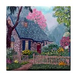 Essex House Cottage -AveHurley ArtRevu.com- Tile Coaster