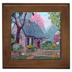 Essex House Cottage -AveHurley ArtRevu.com- Framed Tile