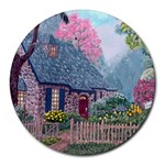 Essex House Cottage -AveHurley ArtRevu.com- Round Mousepad