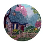 Essex House Cottage -AveHurley ArtRevu.com- Ornament (Round)