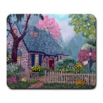 Essex House Cottage -AveHurley ArtRevu.com- Large Mousepad