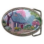 Essex House Cottage -AveHurley ArtRevu.com- Belt Buckle
