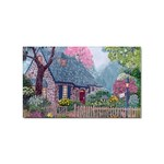 Essex House Cottage -AveHurley ArtRevu.com- Sticker (Rectangular)