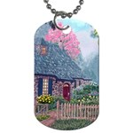 Essex House Cottage -AveHurley ArtRevu.com- Dog Tag (One Side)