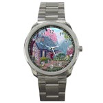 Essex House Cottage -AveHurley ArtRevu.com- Sport Metal Watch