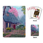 Essex House Cottage -AveHurley ArtRevu.com- Playing Cards Single Design
