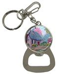 Essex House Cottage -AveHurley ArtRevu.com- Bottle Opener Key Chain