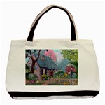Essex House Cottage -AveHurley ArtRevu.com- Basic Tote Bag