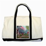 Essex House Cottage -AveHurley ArtRevu.com- Two Tone Tote Bag