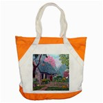Essex House Cottage -AveHurley ArtRevu.com- Accent Tote Bag