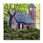 Essex Lighthouse -AveHurley ArtRevu.com- Tile Coaster