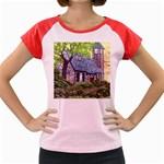 Essex Lighthouse -AveHurley ArtRevu.com- Women s Cap Sleeve T-Shirt