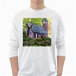 Essex Lighthouse -AveHurley ArtRevu.com- Long Sleeve T-Shirt
