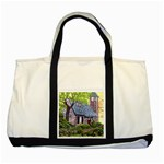 Essex Lighthouse -AveHurley ArtRevu.com- Two Tone Tote Bag