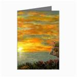 James Hurley Point Lighthouse -AveHurley ArtRevu.com- Mini Greeting Card