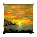James Hurley Point Lighthouse -AveHurley ArtRevu.com- Standard Cushion Case (Two Sides)