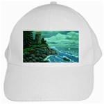 Jerrys Lighthouse -  Ave Hurley - Wrap Canvas Version White Cap
