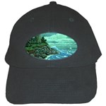 Jerrys Lighthouse -  Ave Hurley - Wrap Canvas Version Black Cap