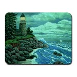 Jerrys Lighthouse -  Ave Hurley - Wrap Canvas Version Small Mousepad