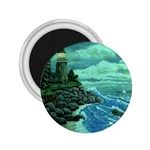 Jerrys Lighthouse -  Ave Hurley - Wrap Canvas Version 2.25  Magnet