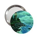 Jerrys Lighthouse -  Ave Hurley - Wrap Canvas Version 2.25  Handbag Mirror